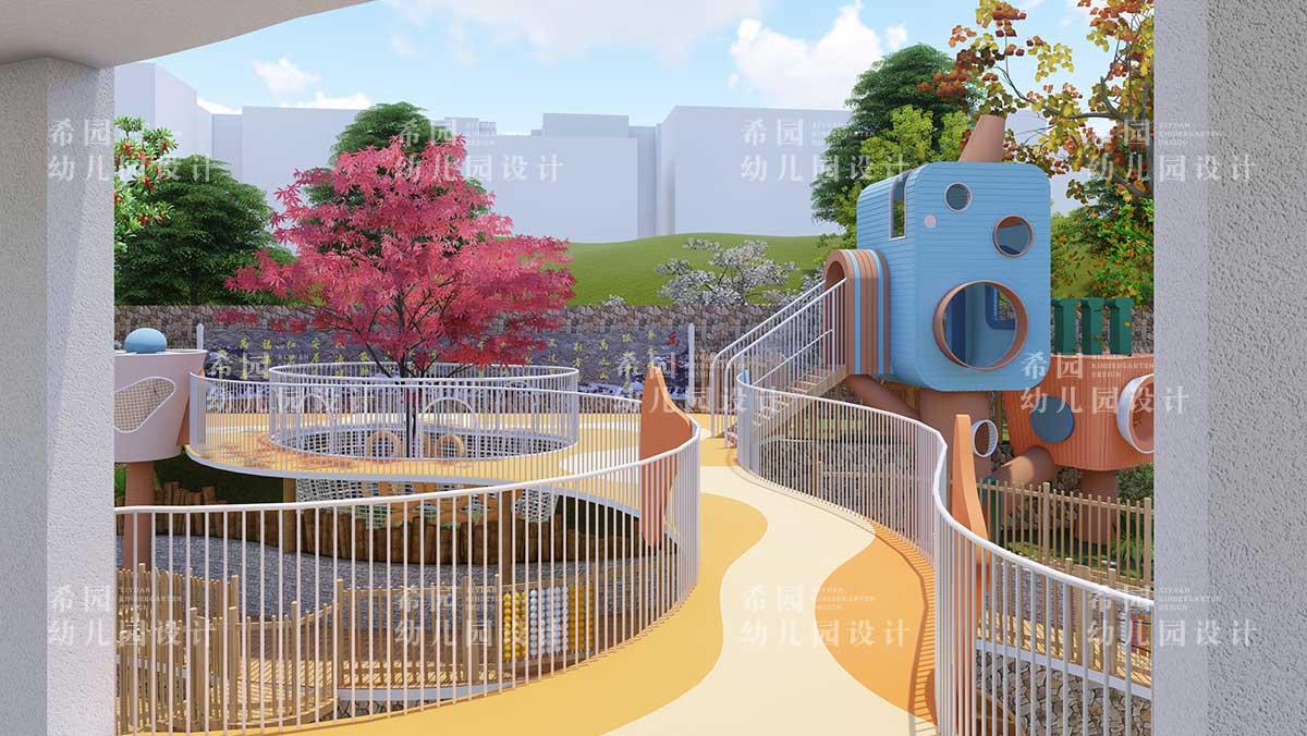 幼儿园户外绿植设计