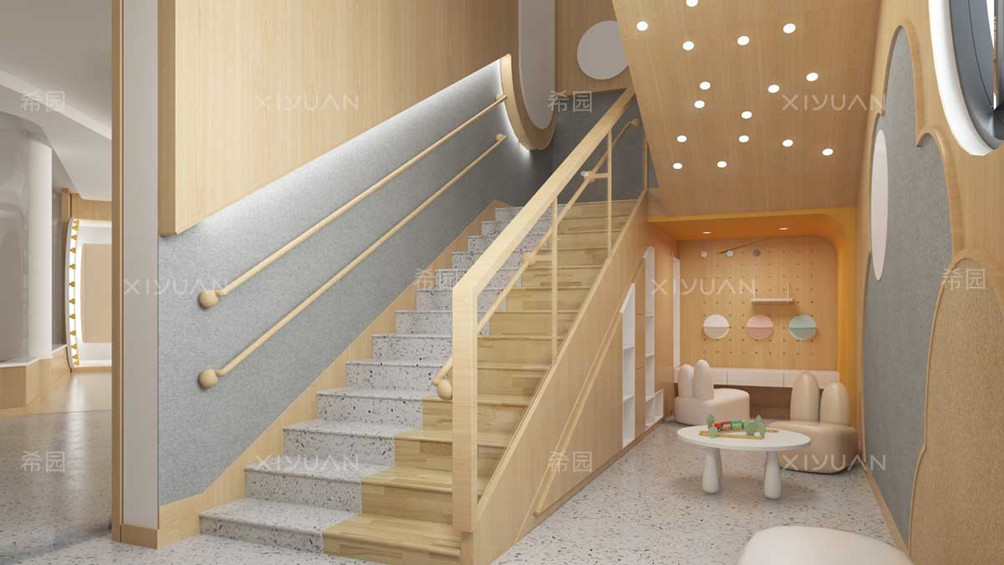 幼儿园楼梯设计效果图
